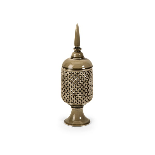 Polard Small Cutwork Canister with Lid