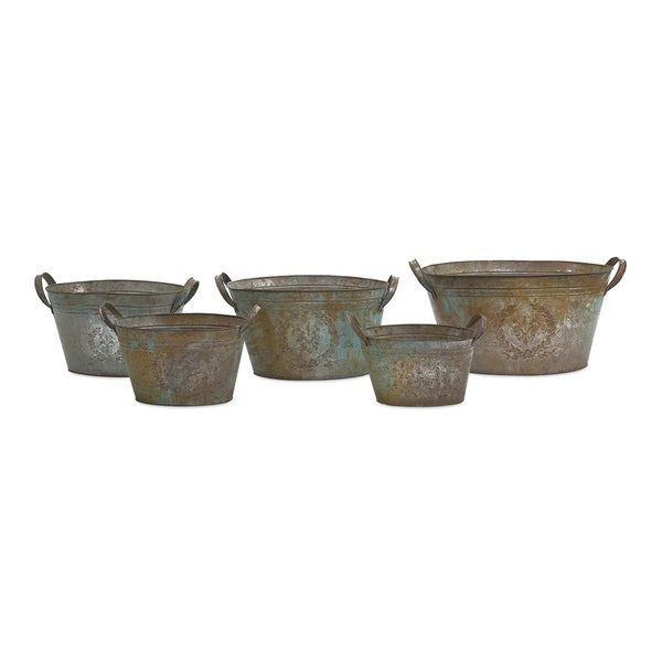 Liv Metal Tubs (Set of 5)