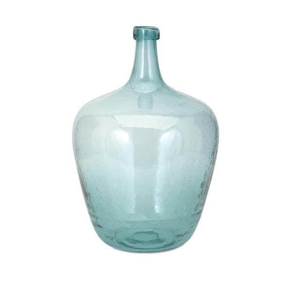 Bryn Blue Bubble Glass Jug