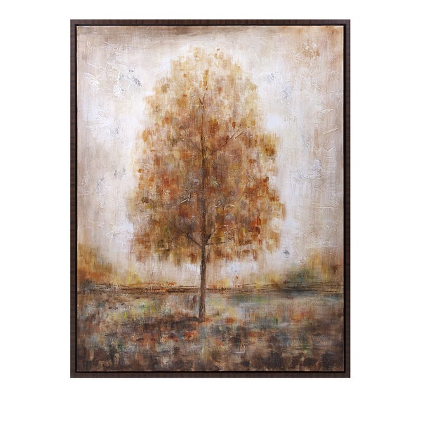 Singular Framed Oil Painting