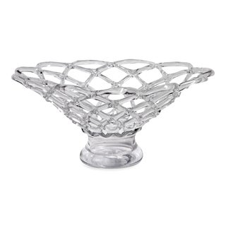 Large Glass Web Bowl