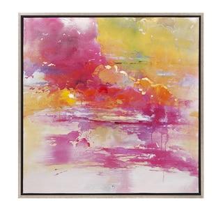 Alexa Oil On Canvas With Frame