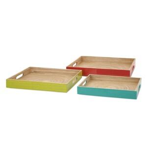 Jamye Bamboo Trays (Set of 3)