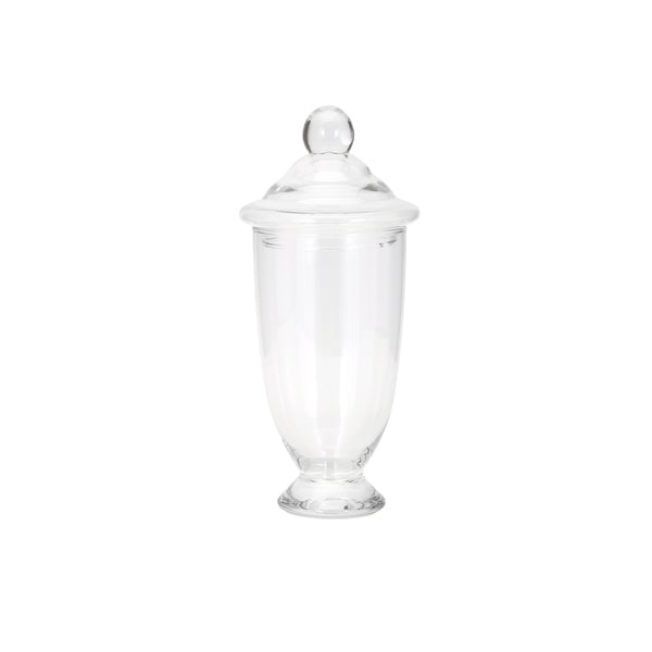 Heidi Lidded Glass Jar - Small