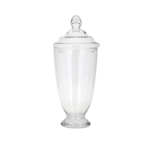 Heidi Lidded Glass Jar - Medium