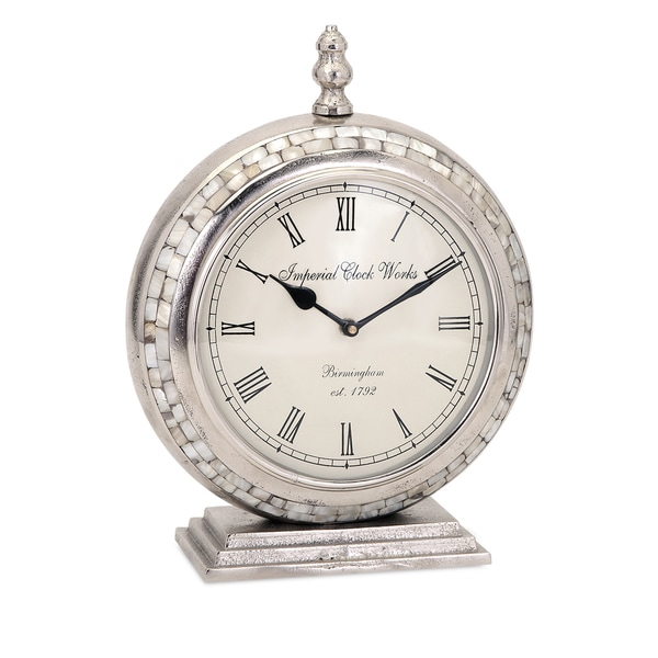 Danza Mother of Pearl Clock