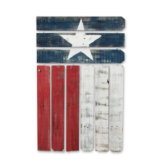 Natural Reclaimed Texas Wall Flag