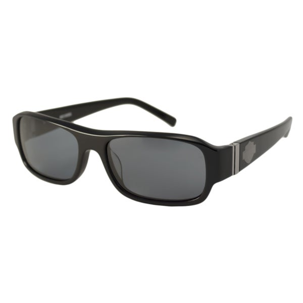 Harley Davidson Men's/ Unisex HDX801 Rectangular Sunglasses