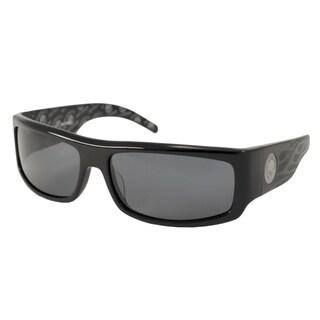 Harley Davidson Men's HDX805 Wrap Sunglasses