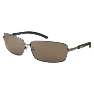 Harley Davidson Men's HDX845 Rectangular Sunglasses