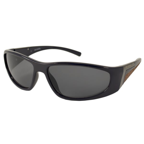 Harley Davidson Men's HDX871 Wrap Sunglasses