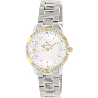 Bulova Women's 98L176 Stainless Steel Quartz Watch
