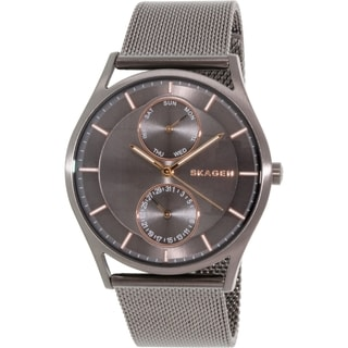 Skagen Men's Holst SKW6180 Black Stainless Steel Quartz Watch