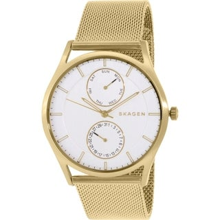 Skagen Men's Holst SKW6173 Goldtone Stainless Steel Quartz Watch