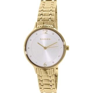 Skagen Women's Anita SKW2322 Goldtone Stainless Steel Quartz Watch