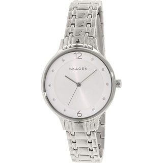 Skagen Women's SKW2320 Anita Diamond Silver Dial Stainless Steel Bracelet Watch