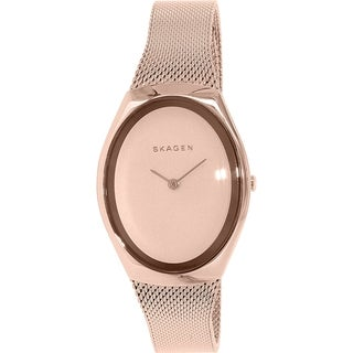 Skagen Women's Madsen SKW2299 Rose-goldtone Stainless Steel Quartz Watch