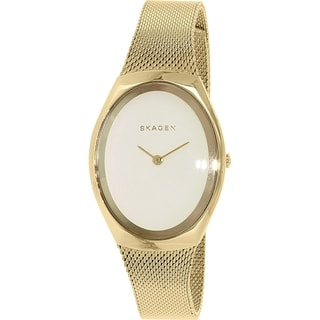 Skagen Women's Madsen SKW2298 Goldtone Stainless Steel Quartz Watch
