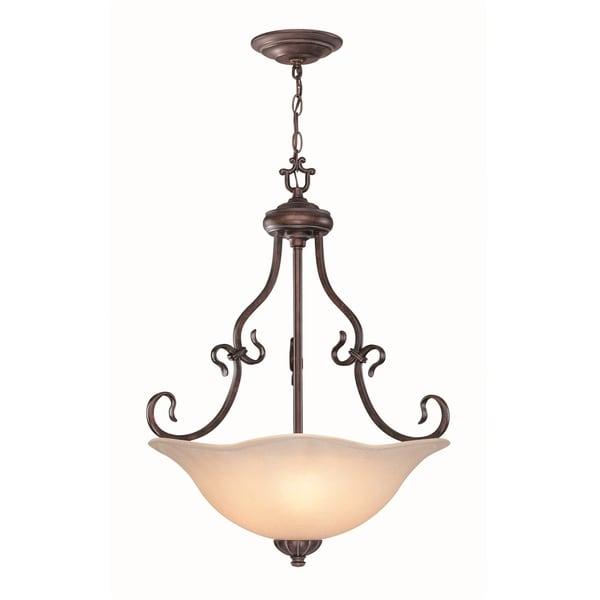 Lite Source Laurent 3-light Ceiling Lamp