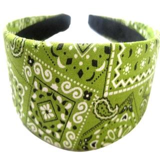 Crawford Corner Shop Green Bandana Headband