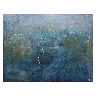'Cloudforest' Hand-painted Canvas Art