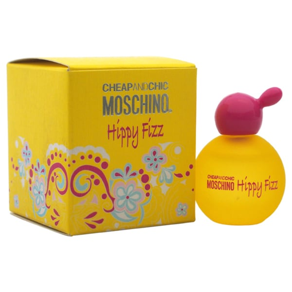 Moschino Cheap and Chic Hippy Fizz Women's 0.16-ounce Eau de Toilette Splash (Mini)