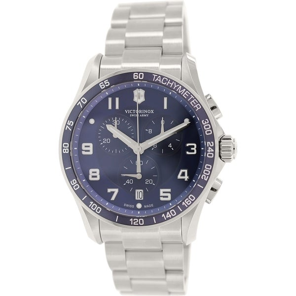 Victorinox Swiss Army Men's Chrono Classic 241652 Stainless Steel Swiss Quartz Watch