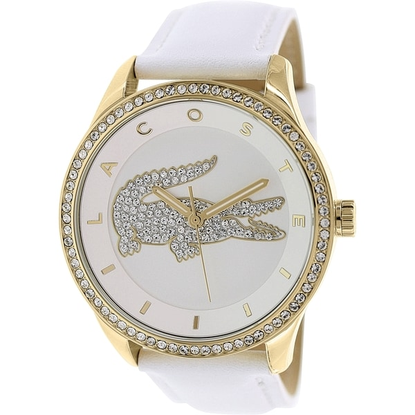 Lacoste Women's Victoria 2000820 White Leather Quartz Watch