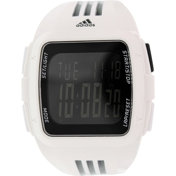 Adidas Men's Duramo ADP6091 White Silicone Quartz Watch