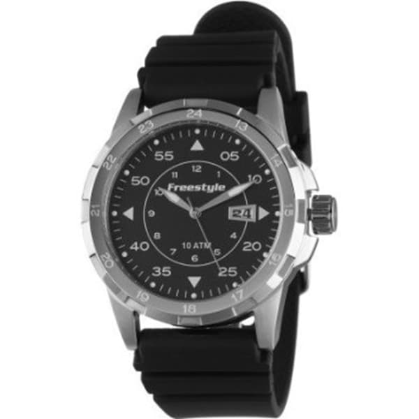Freestyle Men's Journey 101799 Black Polyurethane Quartz Watch