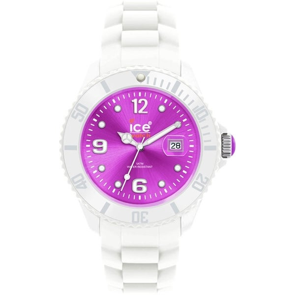 Ice-Watch Women's Sili SI.WV.U.S.10 White Silicone Quartz Watch
