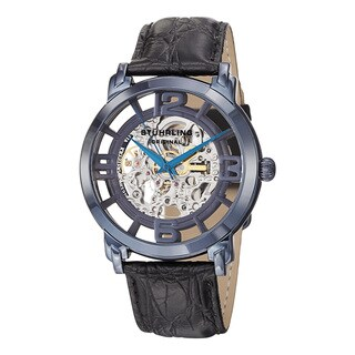 Stuhrling Original Men's Winchester Grand Automatic Stainless Steel Bracelet Watch