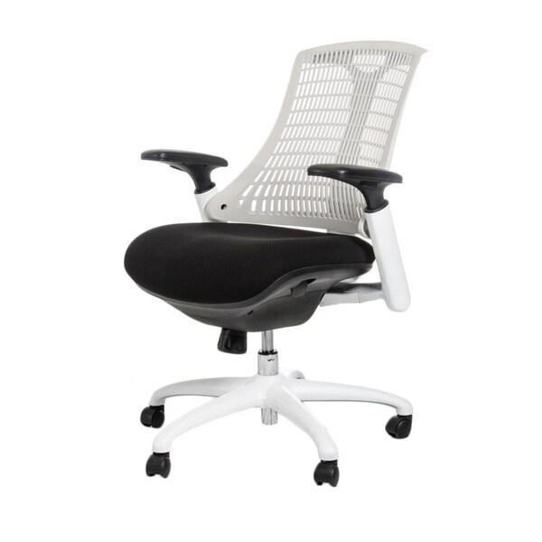 Modrest Innovation White/ Black Modern Office Chair