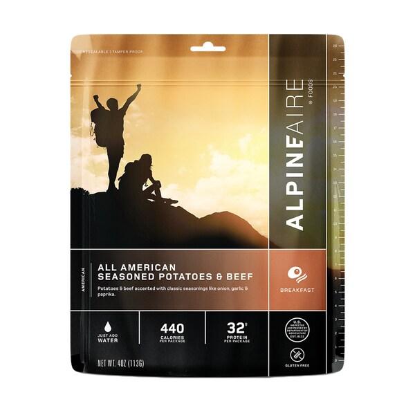 Alpine Aire Foods All American Seasoned Potatoes & Beef Serves2