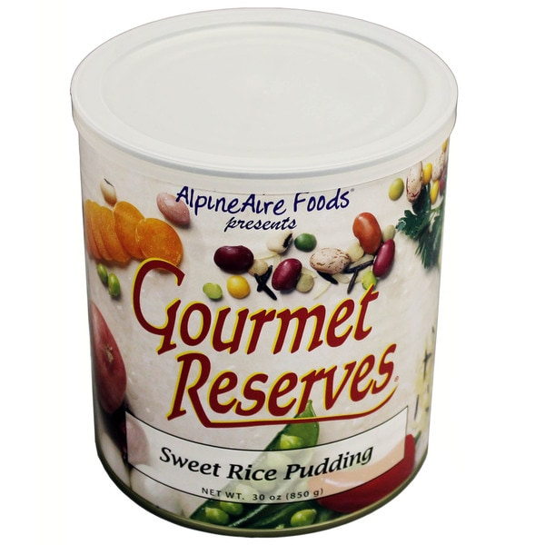 Alpine Aire Foods Sweet Rice Pudding No. 10 Can
