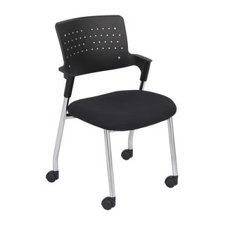 Safco Spry Black Guest Chair (Pack of 2)