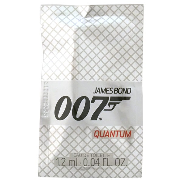 James Bond 007 Quantum Men's 0.04-ounce Eau de Toilette Splash Vial (Mini)