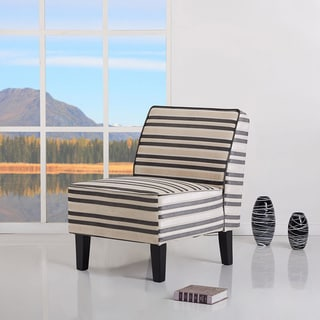 Plano Embossed Stripe Accent Chair