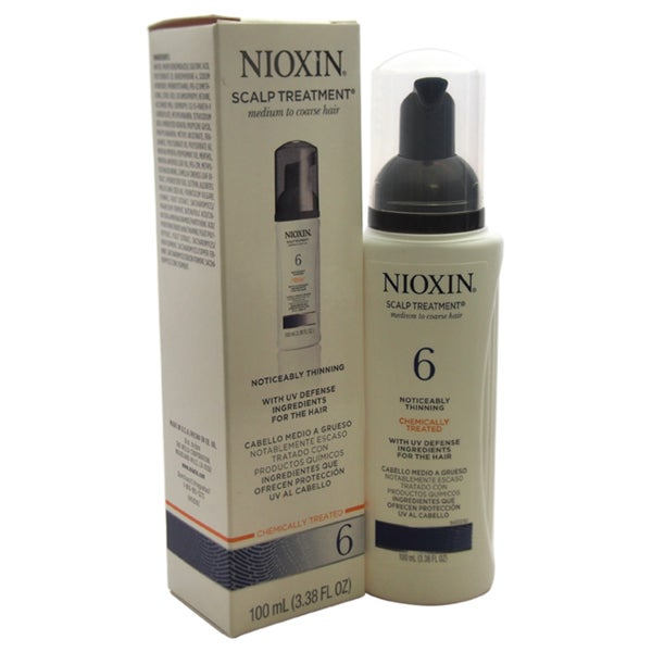 Nioxin System 6 Thinning Hair Scalp Treatment