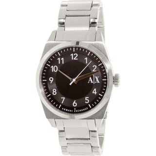 Armani Exchange Men's Stainless Steel Quartz Watch
