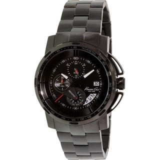 Kenneth Cole Men's Black Stainless Steel Automatic Watch
