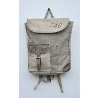 Jasper Recycled Canvas Backpack