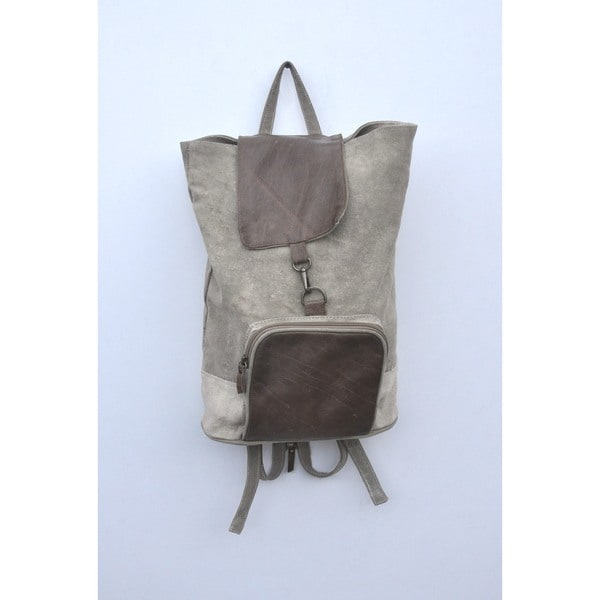 Finley Recycled Canvas Backpack