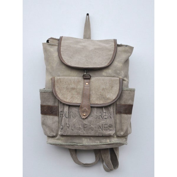 Danlee Recycled Canvas Backpack