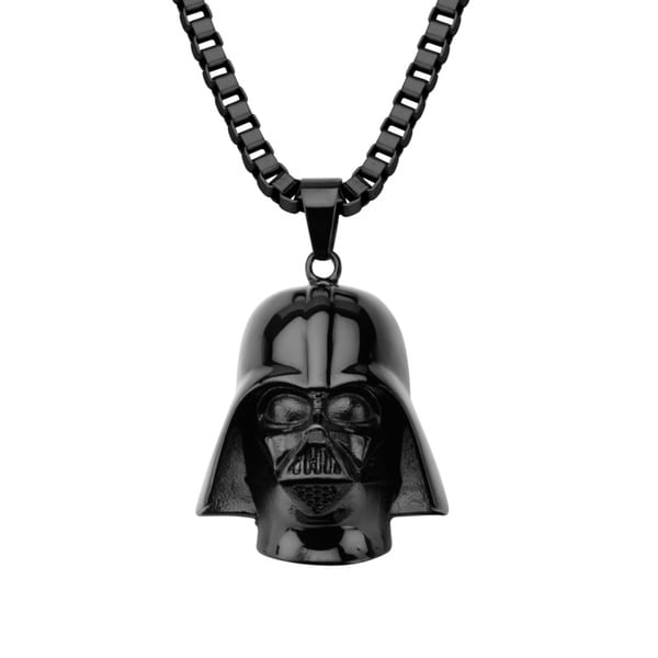 Stainless Steel 3D Darth Vader Necklace
