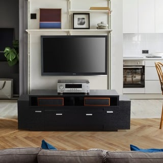 Furniture of America Peyton Modern Tiered TV Stand
