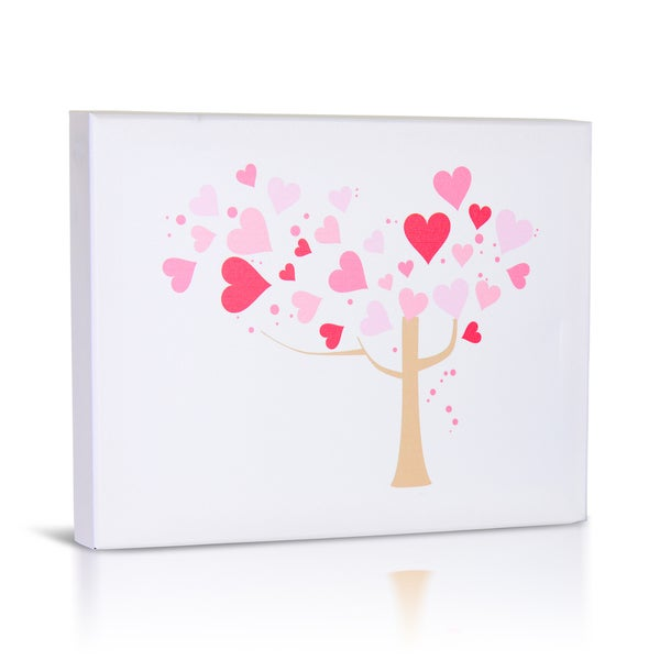 'Love Tree' Canvas Gallery Wrapped Art