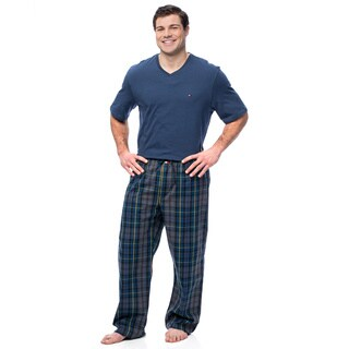 Tommy Hilfiger Men's Navy Short Sleeve Pajama Box Set
