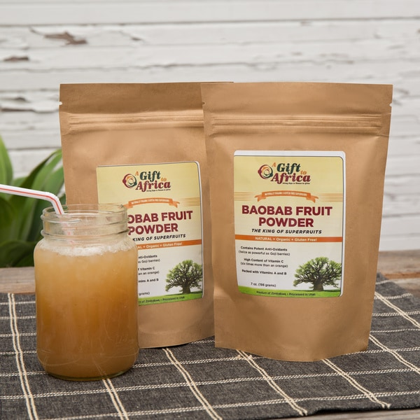 A Gift to Africa Baobab Fruit Powder