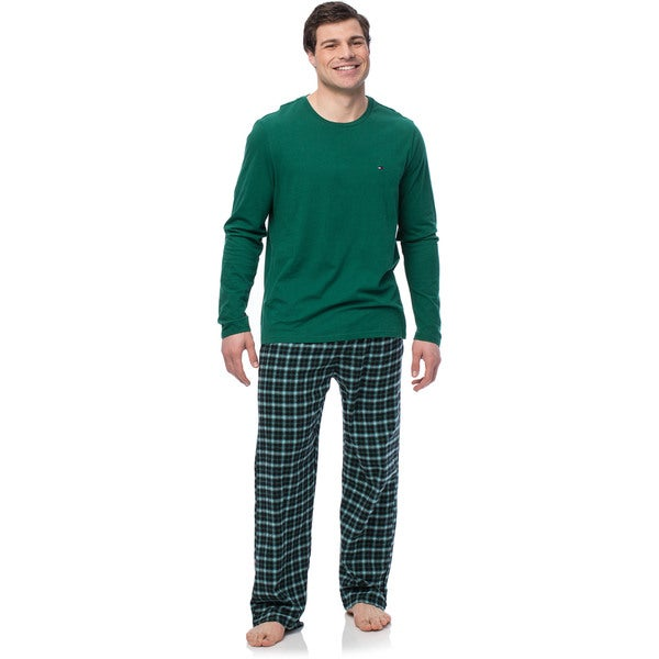Tommy Hilfiger Men's Spruce Boxed Flannel Sleep Set